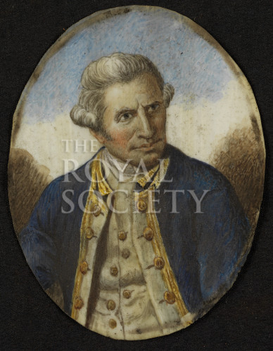 Miniature of james cook royal society picture library miniature of james cook sciox Images
