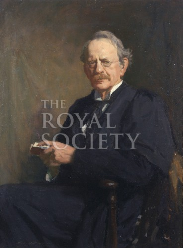 Portrait Of Joseph John Thomson Royal Society Picture